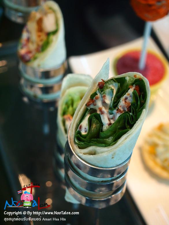 เรียกไม่ถูก รู้อย่างเดียวว่าอร่อย (รีวิวรูปภาพ สุขสนุกต้อนรับซัมเมอร์ Amari Hua Hin - หนูตะลอน)