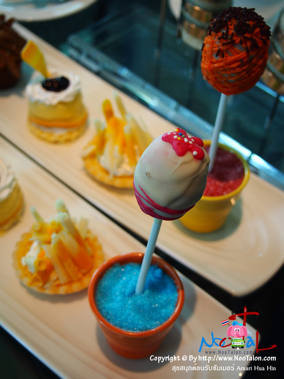 ขนมหวานมีชุดละ 4 ชิ้น (รีวิวรูปภาพ สุขสนุกต้อนรับซัมเมอร์ Amari Hua Hin - หนูตะลอน)