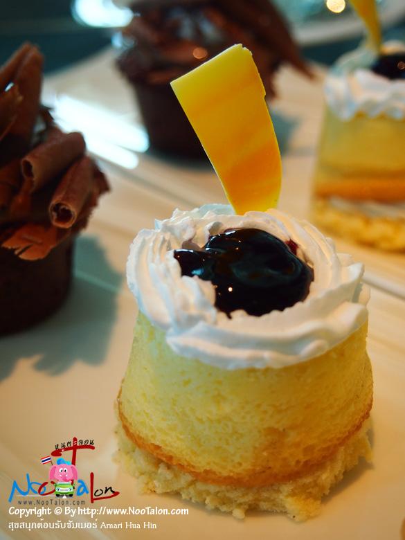 เค้กจิ๋ว (รีวิวรูปภาพ สุขสนุกต้อนรับซัมเมอร์ Amari Hua Hin - หนูตะลอน)