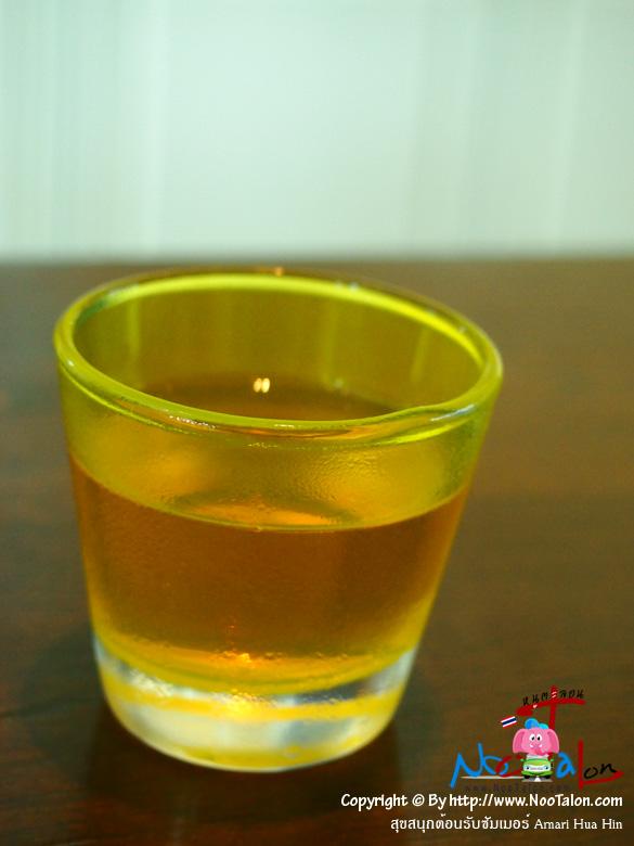 เวลคัมดริ้งเย็นๆ สักแก้ว (แก้วเล็กไปนิด) (รีวิวรูปภาพ สุขสนุกต้อนรับซัมเมอร์ Amari Hua Hin - หนูตะลอน)