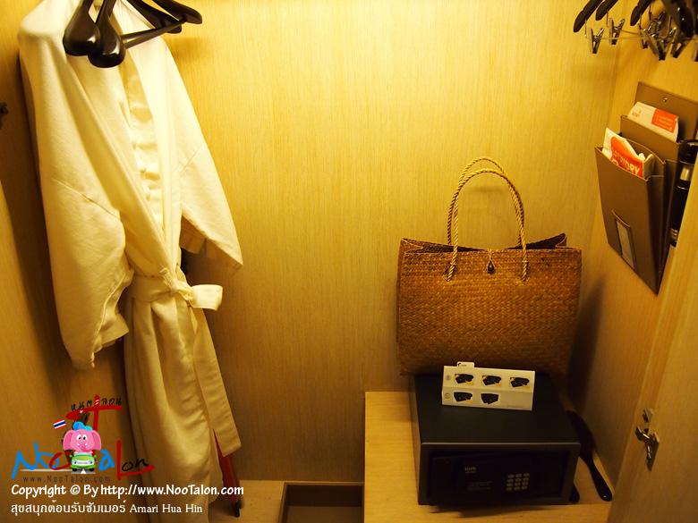 สำรวจตู้เสื้อผ้าสักหน่อย (รีวิวรูปภาพ สุขสนุกต้อนรับซัมเมอร์ Amari Hua Hin - หนูตะลอน)