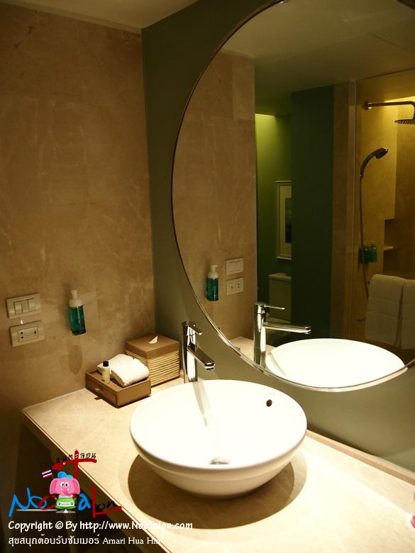 เข้าห้องน้ำดีกว่า (รีวิวรูปภาพ สุขสนุกต้อนรับซัมเมอร์ Amari Hua Hin - หนูตะลอน)