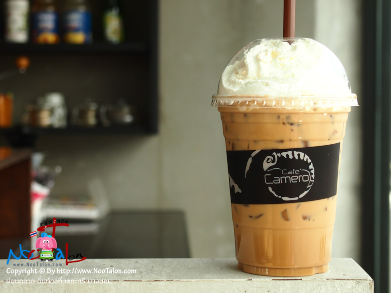 กาแฟ ร้านคาเมโล่ เดอะทรี บางบอน